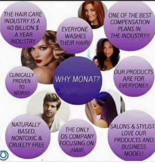 What makes Monat different? We are the first of it's kind, clinically proven and naturally based
